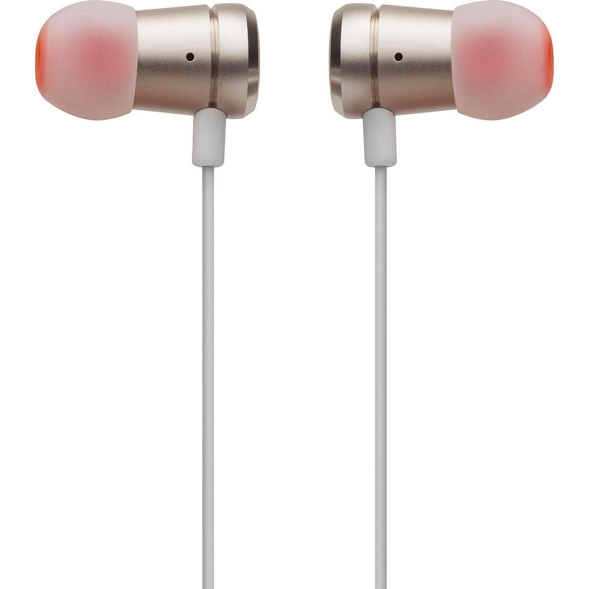 Jbl T290 Pure Bass All Metal In Ear Headphones With Mic Gold Headphone Silver Thank Deal